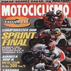 Coches y Motocicletas: REVISTA MOTOCICLISMO Nº 1504 AÑO 1996. PRUEBA: BIMOTA SB6R. YAMAHA DT 250. COMP: HONDA CBR 600,. Lote 87589011