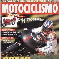 Coches y Motocicletas: REVISTA MOTOCICLISMO Nº 1519 AÑO 1997. PRUEBA: HONDA ST 1200 TRANS EUROPEAN. KAWASAKI ZXR 1100.. Lote 20765953