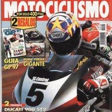 Coches y Motocicletas: REVISTA MOTOCICLISMO Nº 1520 AÑO 1997. PRUEBA: BMW R 1200 C. DUCATI ST 2. BMW K 1200 RS.. Lote 20765957