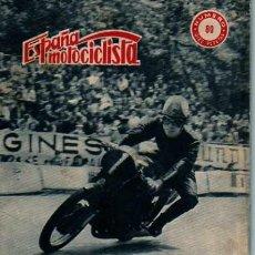 Coches y Motocicletas: REVISTA ESPAÑA MOTOCILISTA Nº 80. Lote 13805726