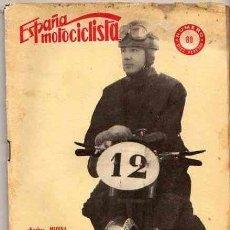 Coches y Motocicletas: REVISTA ESPAÑA MOTOCILISTA Nº 89. Lote 13805890