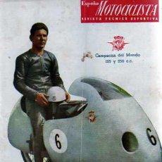 Coches y Motocicletas: REVISTA ESPAÑA MOTOCILISTA Nº 52. Lote 13805906