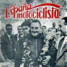 Coches y Motocicletas: REVISTA ESPAÑA MOTOCILISTA Nº 73. Lote 13805914