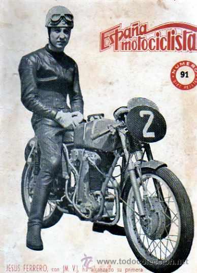 REVISTA ESPAÑA MOTOCILISTA Nº 91 (Coches y Motocicletas - Revistas de Motos y Motocicletas)