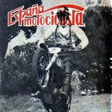 Coches y Motocicletas: REVISTA ESPAÑA MOTOCILISTA Nº 94. Lote 13806121