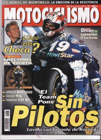 REVISTA MOTOCICLISMO Nº 1586 AÑO 1998. PRU: KAWASAKI VN 1500 CLASSIC TOURER. TRIUMPH SPRINT SPORTS. (Coches y Motocicletas - Revistas de Motos y Motocicletas)