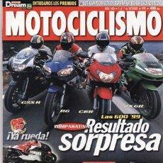 Coches y Motocicletas: REVISTA MOTOCICLISMO Nº 1606 AÑO 1998. PRUEBA TRIUMPH SPRINT ST. DUCATI ST4. HARLEY DAVIDSON FXST.. Lote 21145377