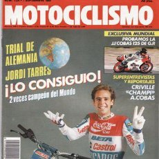 Coches y Motocicletas: REVISTA MOTOCICLISMO Nº 1124 AÑO 1989. PRUEBA: JJ-COBAS 125 GP. PRUEBA: SUZUKI RMX 250. REPORTAJES Y. Lote 20929496