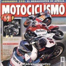 Coches y Motocicletas: REVISTA MOTOCICLISMO Nº 1624 AÑO 1999. PRUEBA: TRIUMPH TIGER 900. YAMAHA XJR 1300. KAWASAKI W 650.. Lote 20945521