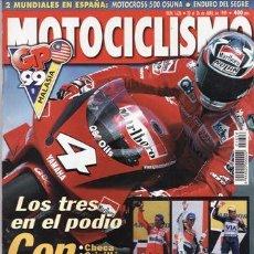Coches y Motocicletas: REVISTA MOTOCICLISMO Nº 1626 AÑO 1999.PRU: YAMAHA MAJESTY 250 ABS. COMP: BMW GS 1100, HONDA VARADERO. Lote 20995363