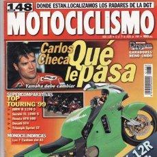 Coches y Motocicletas: REVISTA MOTOCICLISMO Nº 1638 AÑO 1999. PRU BMW R 850 C. HYOSUNG GRAND PRIX 125. COMP: BMW R 1100 RS,. Lote 21016388