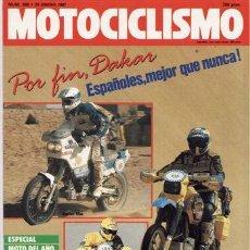 Coches y Motocicletas: REVISTA MOTOCICLISMO Nº 989 AÑO 1987. PRUEBA: MORINI 501 EXCALIBUR. YAMAHA TZR 125. MOBYLETTE ONIX.. Lote 45140799