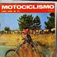 Coches y Motocicletas: MOTOCICLISMO REVISTA JULIO 1973. 2 QUINCENA. PRUEBA MV 750. MOTO CROSS. 24 HORAS MONTJUICH. ARANDA.. Lote 14707987