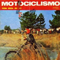 Coches y Motocicletas: MOTOCICLISMO REVISTA JULIO 1973. 2 QUINCENA. PRUEBA MV 750. MOTO CROSS. 24 HORAS MONTJUICH. ARANDA.. Lote 14708005