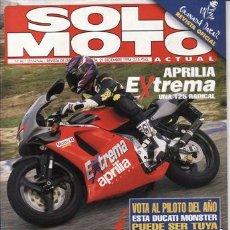 Coches y Motocicletas: REVISTA SOLO MOTO ACTUAL Nº 967 AÑO 1994. PR: APRILIA EXTREMA 125. COMP: HONDA CR 125,SUZUKI RM 125,. Lote 21727267