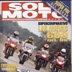 Coches y Motocicletas: REVISTA SOLO MOTO ACTUAL Nº 968 AÑO 1994. PRUEBA: SUZUKI BANDIT GSF 600 F. COMP: HONDA CBR 600 R,. Lote 39183168