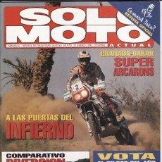 Coches y Motocicletas: REVISTA SOLO MOTO ACTUAL Nº 970 AÑO 1995. PRU:KAWASAKI VN 800 VULCAN.COMP:YAMAHA XJ 600 S DIVERSION.. Lote 21727276