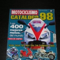 Coches y Motocicletas: MOTOCICLISMO CATALOGO 1998 - HONDA YAMAHA SUZUKI KAWASAKI BMW DUCATI DERBI BIMOTA VESPA APRILIA. Lote 15617230