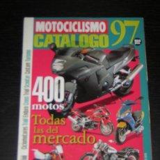 Coches y Motocicletas: MOTOCICLISMO CATALOGO 1997 - HONDA YAMAHA SUZUKI KAWASAKI BMW DUCATI DERBI BIMOTA VESPA APRILIA. Lote 21892758
