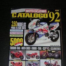 Coches y Motocicletas: MOTOCICLISMO CATALOGO 1992 - HONDA YAMAHA SUZUKI KAWASAKI BMW DUCATI DERBI BIMOTA VESPA APRILIA. Lote 15617243