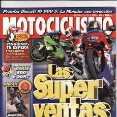 Coches y Motocicletas: REVISTA MOTOCICLISMO Nº 1664 AÑO 2000. PRUEBA: DUCATI MONSTER 900 S IE. DUCATI ASTRO 50.. Lote 22030246