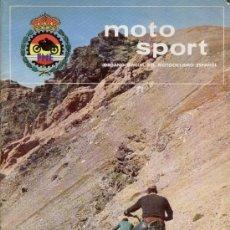 Coches y Motocicletas: MOTO SPORT Nº 44 - REVISTA DEL ORGANO OFICIAL DE MOTOCICLISMO ESPAÑOL - A11. Lote 26146130