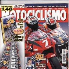 Coches y Motocicletas: REVISTA MOTOCICLISMO Nº 1681 AÑO 2000. COMPARATIVA: HONDA FES 250 FORESIGHT, MALAGUTI MADISON 250 S. Lote 32921023