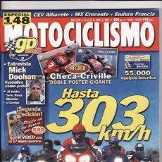 Coches y Motocicletas: REVISTA MOTOCICLISMO Nº 1683 AÑO 2000. COMP: KAWSAKI ZX 12R, BMW K 1200 RS, HONDA CBR 1100 XX.. Lote 22095928