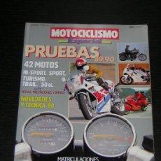 Coches y Motocicletas: MOTOCICLISMO ESPECIAL PRUEBAS 1989/90 - HONDA YAMAHA SUZUKI HARLEY BMW DUCATI VESPA KAWASAKI APRILIA. Lote 15946080