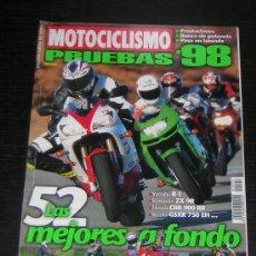 Coches y Motocicletas: MOTOCICLISMO ESPECIAL PRUEBAS 1998 - HONDA YAMAHA SUZUKI HARLEY BMW DUCATI VESPA KAWASAKI APRILIA. Lote 15946083