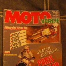 Coches y Motocicletas: REVISTA MOTO VERDE NUM.151 FEBRERO 1991. Lote 27198404