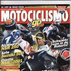 Coches y Motocicletas: REVISTA MOTOCICLISMO Nº 1707 AÑO 2000. PRUEBA: HONDA CBR 600 F. HONDA CBR F SPORT.. Lote 22331826