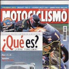Coches y Motocicletas: REVISTA MOTOCICLISMO Nº 1714 AÑO 2000. PRUEBA: DUCATI 750 SPORT.`PRUEBA: HONDA JAZZ 250. REPORTAJES . Lote 22331834
