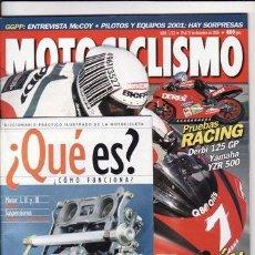 Coches y Motocicletas: REVISTA MOTOCICLISMO Nº 1713 AÑO 2000. PRUEBA: DUCATI 750 SPORT.`PRUEBA: HONDA JAZZ 250. REPORTAJES . Lote 22331841