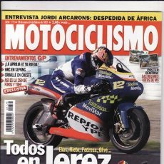 Coches y Motocicletas: REVISTA MOTOCICLISMO Nº 1771 AÑO 2002. PRUEBA: HONDA VFR. PRUEBA: SUZUKI GSXR 1000. REPORTAJES Y DEP. Lote 22418914