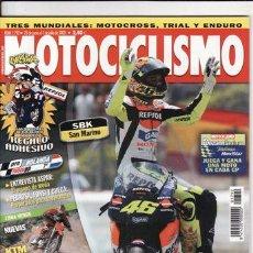 Coches y Motocicletas: REVISTA MOTOCICLISMO Nº 1792 AÑO 2002. COMP: BMW K 1200 RS, HONDA CBR 1100 XX Y KAWASAKI ZZ R 1200. Lote 22477453