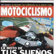 Coches y Motocicletas: REVISTA MOTOCICLISMO Nº 1813 AÑO 2002. PRUEBA: SUZUKI GSVR. DUCATI MONSTER 1000S. TRIIUMPH TT 600.. Lote 245272785
