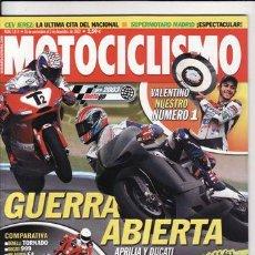Coches y Motocicletas: REVISTA MOTOCICLISMO Nº 1814 AÑO 2002. PRUEBA: BUELL XB 9S LIGHTINING. COMP: BENELLI TORNARO. Lote 22523129
