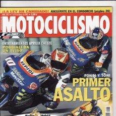 Coches y Motocicletas: REVISTA MOTOCICLISMO Nº 1825 AÑO 2003. PRUEBA: PETA ART. TRIUMPH SPEED FOUR. COMP: BBW 1150 GS,. Lote 22545774