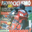 Coches y Motocicletas: REVISTA MOTOCICLISMO Nº 1701 AÑO 2000-DUCATI MONSTER 900-SALÓN DE MUCNICH-MOTOCROSS USA-AIRBAG. Lote 26799703