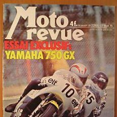 Coches y Motocicletas: MOTO REVUE Nº 2268 16 MAYO 1976 YAMAHA 750 GX COUPE FIM 750 ESPAGNE SALON BARCELONA 6 JOURS ECOSSE. Lote 26960883