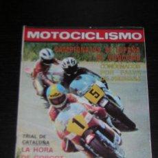 Coches y Motocicletas: MOTOCICLISMO Nº 579 - OCT 1978 - MOTO GUZZI V 35 / DERBI TT 74 / TRIAL CATALUÑA / GUADALAJARA. Lote 16338279