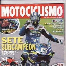 Coches y Motocicletas: REVISTA MOTOCICLISMO Nº 1861 AÑO 2003. PRUEBA: DUCATI 749 S. SUZUKI GSX R 750.. Lote 22622329