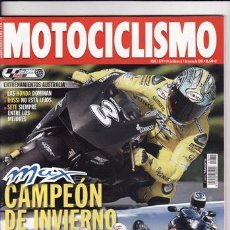 Coches y Motocicletas: REVISTA MOTOCICLISMO Nº 1879 AÑO 2004. PRUEBA: KAWASAKI VN 2000. KASASAKI VN 1600. YAMAHA T MAX 500.. Lote 22660222