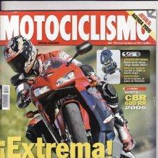 Coches y Motocicletas: REVISTA MOTOCICLISMO Nº 1929 AÑO 2005. PRUEBA: HONDA CBR 600 RR. BWW R 1200 S.. Lote 125156288