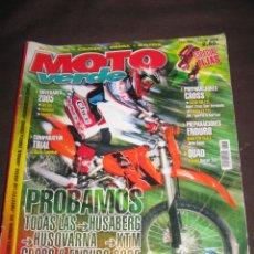 Coches y Motocicletas: QUEX MOTOS - MOTOCICLISMO - MOTO CROSS - REVISTA MOTO VERDE Nº 77. Lote 16386783