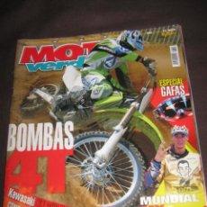 Coches y Motocicletas: QUEX MOTOS - MOTOCICLISMO - MOTO CROSS - REVISTA MOTO VERDE Nº 303. Lote 16386828