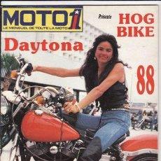 Coches y Motocicletas: REVISTA MOTO 1 AÑO 1988 Nº 61. Lote 22809970