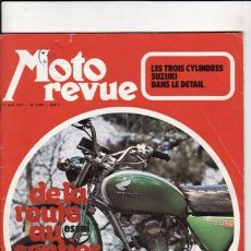 Coches y Motocicletas: REVISTA MOTO REVUE Nº 2073 AÑO 1972. PRUEBA: HONDA 125 SL. REPORTAJES Y DEPORTE PREGUTAR. . Lote 22809973