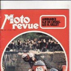 Coches y Motocicletas: REVISTA MOTO REVUE Nº 2079 AÑO 1972. . Lote 22809977